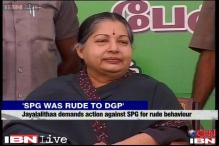 Act against official who misbehaved with Tamil Nadu DGP: Jayalalithaa to PM