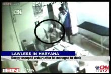 Karnal: Allegedly drunk policeman caught on camera shooting doctor