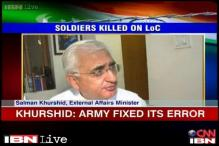Khurshid defends Antony over statement row, calls it Army's 'mistake'