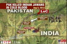 Pakistan Army killed 5 Indian soldiers at LoC as they slept
