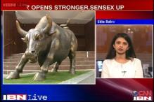 Markets open in the green; rupee opens stronger, at 67.20 vs dollar