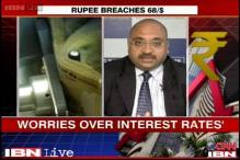 Watch: Reactions on rupee, markets fall