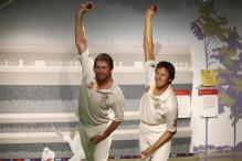 McGrath's wax statue unveiled at Madame Tussauds Sydney
