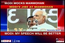 People can compare my speech with Manmohan's on Independence Day: Modi