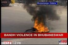 Odisha gangrape: Violence erupts in Bhubaneswar as BJP calls for bandh