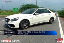 Overdrive: Review of Mercedes E63 AMG