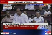 Coal scam: BJP raises issue of missing files in Rajya Sabha