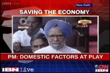 Uproar in Parliament over economic crisis, falling rupee