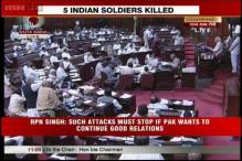 Oppn corners UPA govt over LoC killings in Rajya Sabha, Lok Sabha adjourned