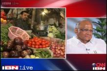 Pawar calls vegetables price rise once-in-a year phenomenon