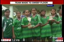 Ranchi: Under-14 female football players allege humiliation