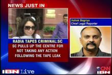2G: SC pulls up govt for no action on Radia tapes for 5 years
