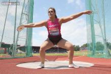 Sandra Perkovic wins women's discus at World Championships