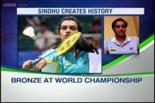 PV Sindhu elated after making history in BWF World Championships
