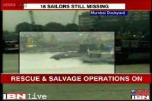 Search operations at INS Sindhurakshak continue