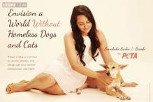 Sonakshi Sinha join forces with PETA, appeals fans to adopt cats, dogs