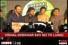 'Chennai Express': Vishal-Shekhar upset with SRK over 'Lungi dance'?