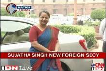 Sujatha Singh takes charge as Foreign Secretary