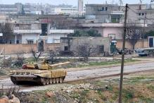 Syrian army advances in countryside of Damascus