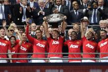 Manchester United beat Wigan Athletic 2-0 to lift Community Shield