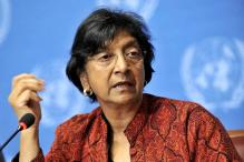 United Nations rights chief visits Jaffna, faces protest