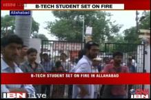 UP: Former boyfriend allegedly sets girl on fire in Allahabad