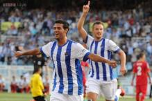 Sociedad beat Getafe 2-0 to open Spanish league