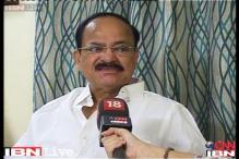 Entire country is disappointed with Defence Minister's statement: Venkaiah Naidu