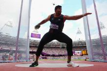 Vikas Gowda finishes 7th in World Athletics Championships