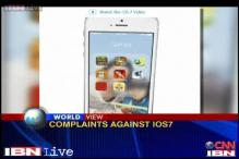Apple users complain of motion sickness against iOS7