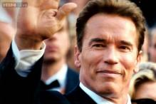 Arnold Schwarzenegger clicked kissing new girlfriend Milligan