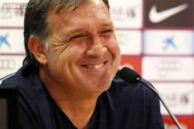 Champions League debut awaits for Barcelona coach Martino