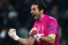 Italy goalkeeper Buffon equals Cannavaro's record