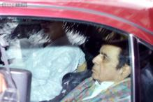 Snapshot: Dilip Kumar discharged from hospital, smiles at fans