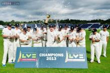 Durham win County Championship title with victory over Nottinghamshire