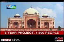Watch: Humayun's Tomb wears a new look after a massive restoration project