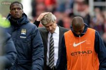 Manchester City frustrated by Stoke in 0-0 draw