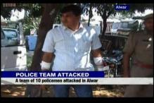 Rajasthan: Mining mafia attacks police team, several officers injured