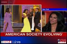 Watch: Miss America Nina says US society is evolving