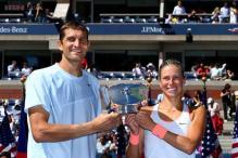 Mirnyi, Hlavackova win US Open mixed doubles title