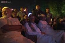Delhi: Modi, Advani attend Ram Jethmalani's 90th birthday celebrations