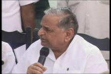 Mulayam downplays rift within SP, says Azam Khan could never be upset with him