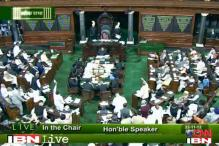 Uproar in Parliament over coal files; Ravi Shankar, Sibal exchange heated words