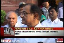 LS passes Pension Bill; Chidambaram says can expect more FDI