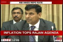 Raghuram Rajan hikes repo rate by 25 basis points