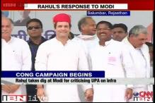 Congress ensured labourers who work on roads get food: Rahul