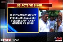SC initiates contempt proceedings against VK Singh over his age row