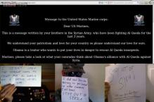 Syrian hackers strike US Marines website, urge troops to refuse orders