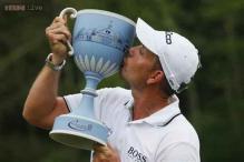 Stenson wins Deutsche Bank Championship