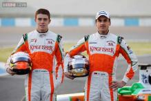 Force India's Sutil to start 15th, Di Resta 17th on Singapore GP grid